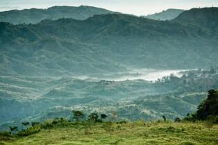 Vakantie in Bangladesh heuvels, heuvels