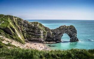 Jurassic Coast in het Verenigd Koninkrijk