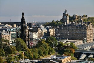 Vakantie in Schotland - Edinburgh