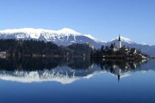 Vakantie in Slovenie - Meer van Bled