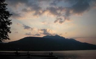 Genieten aan het meer van Caldonazzo