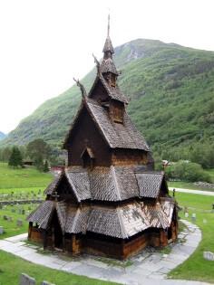 Noorwegen Staafkerk