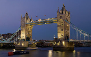 Verenigd Koninkrijk Londen Tower Bridge