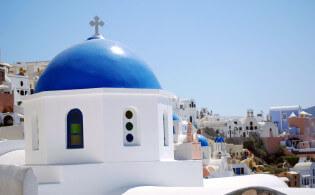 Romantische vakantie op Santorini