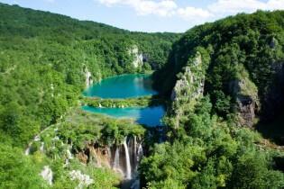 Beautiful Lakes of National Park Plitvice, Kroatia