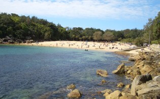 Leef je uit aan Manly Beach