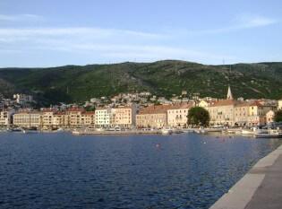 Beautiful bay of Senj, Kroatia