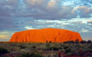 Kleurenpracht bij Uluru, Ayer's Rock