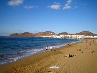 ran Canaria, Playa de las Canteras