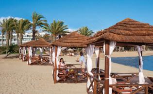 Paphos strand Cyprus