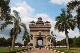 Paxutai, Vientiana, Laos