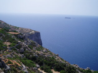 Enjoy the nature at the beautiful Dingli Cliffs, Malta