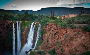 Ouzoud watervallen