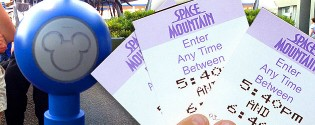 Fastpass ticket Disneyland Parijs