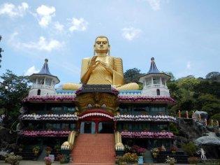 Dambulla Tempel Sri Lanka