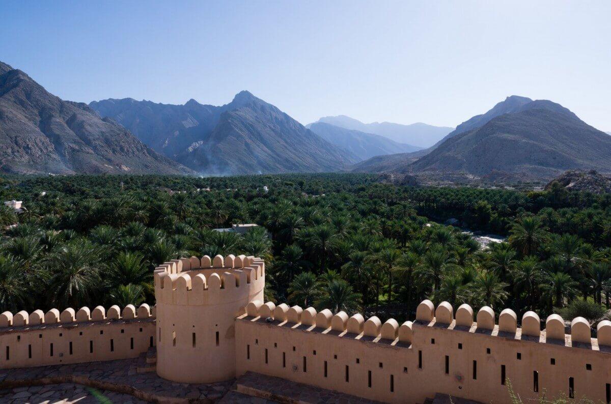 Nakhal Fort, Nakhal, Oman