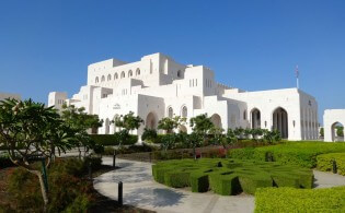 The beautiful Royal Opera House Muscat, Muscat, Oman
