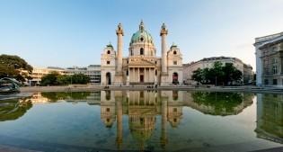 Karlskirche, Wenen, Oostenrijk