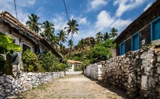 Mooie omgeving van Cidade Velha, Santiago, Kaapverdische Eilanden