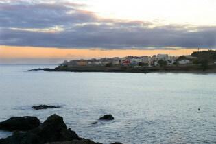 Sunrise in Praia, Santiago, Kaapverdische Eilanden