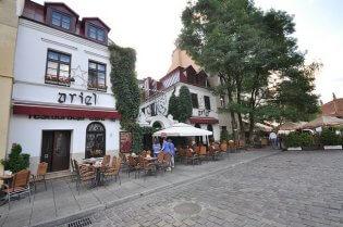 Krakau wijk Kazimierz