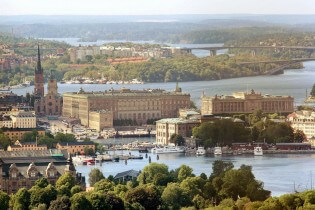 Koninklijk Paleis Zweden in Stockholm