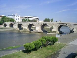 Stenen Brug, Skopje, Macedonië
