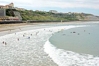 Surfen in Frankrijk - Biarritz