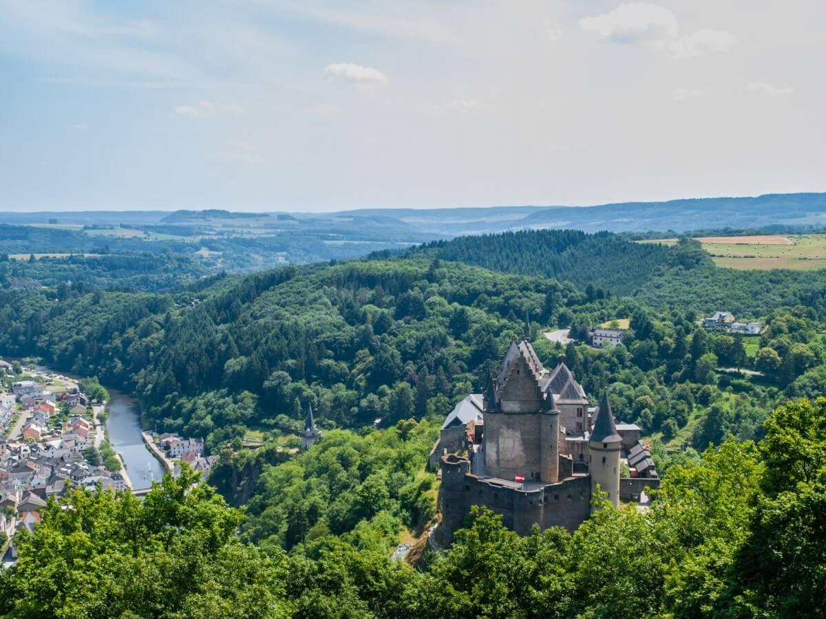 Vakantie in Luxemburg - Uitzicht