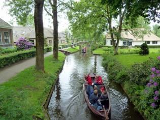Varen in Giethoorn, Nederland