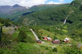 Flåm, Flåmsbana, Noorwegen