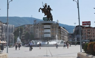 Stedentrip naar Skopje