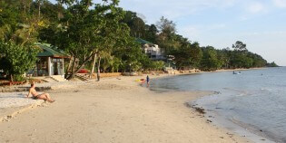Stranden op Koh Chang, Thailand