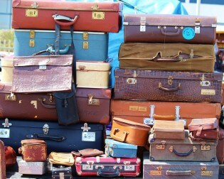 Vintage Antwerpen - Koffers