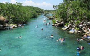 Xel-Ha Park in Mexico