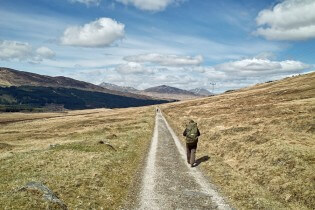 West Highland Way wandelen - Pad