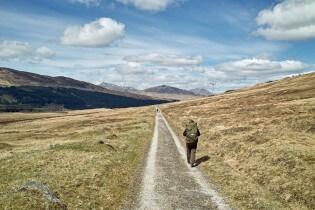 West Highland Way wandelen - Pad