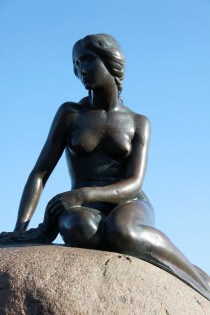 De Kleine Zeemeermin in Kopenhagen