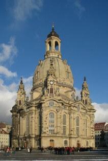 Frauenkirche, Dresden, Duitsland