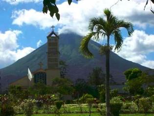 Nationaal Park Volcán Arenal, Costa Rica, Vulkaan