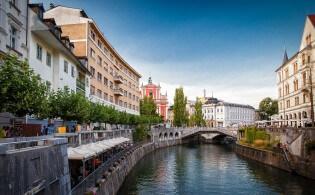 Vakantie Ljubljana: de hoofdstad van Slovenië