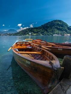 Pletna boot Meer van Bled