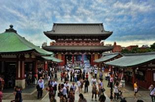 Senso Ji Tempel, Tokyo, Japan