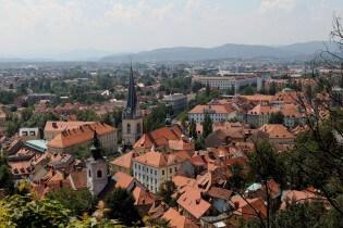 Stedentrip naar Ljubljana de hoofdstad van Slovenie