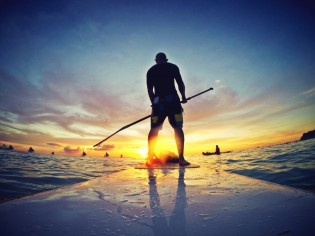 Surfen op Boracay, Filipijnen