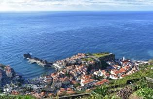 Uitzicht over Funchal