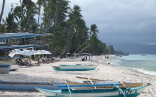 Vakantie op Boracay, Filipijnen