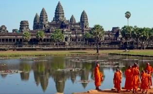 De tempels van Angkor in Cambodja