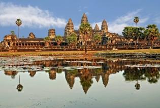 Angkor Wat tempel, Cambodja
