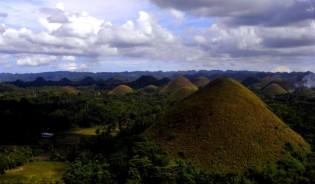 Chocolate Hills, vakantie op de Filipijnen, rondreis